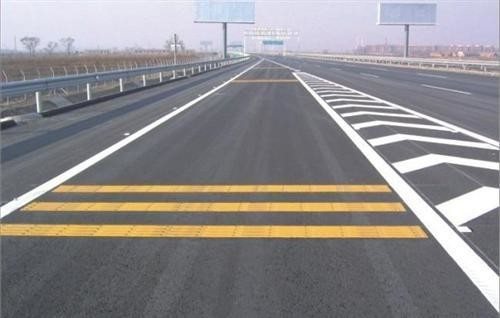 China Rapid Dry Road Line Marking Paint Resins 100% Solid Content Wash Out Resisrtance factory